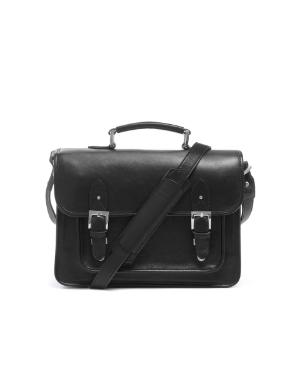 ONA Brooklyn Messenger Bag - Black