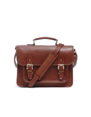 ONA Brooklyn Messenger Bag - Chestnut