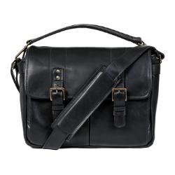 ONA Prince Street Messenger Bag - Leather Black