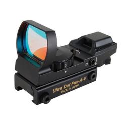 Ultradot Pan AV 4Recticle Opt Weaver Rail