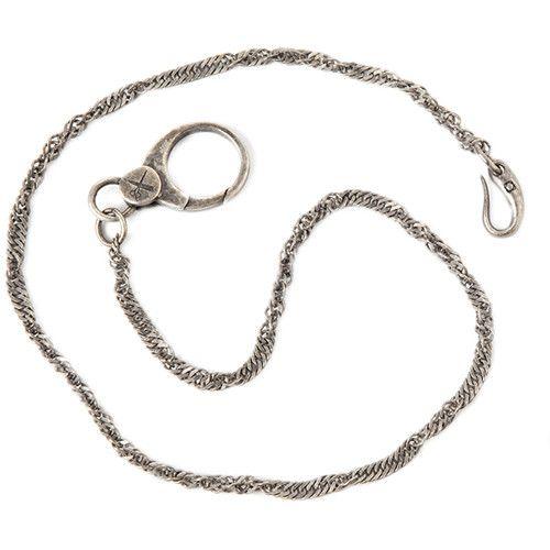 Barber Shop Brass Pocket Chain
