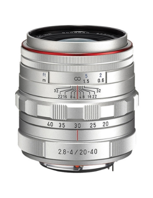 Pentax DA 20-40mm f/2.8-4 Limited Silver