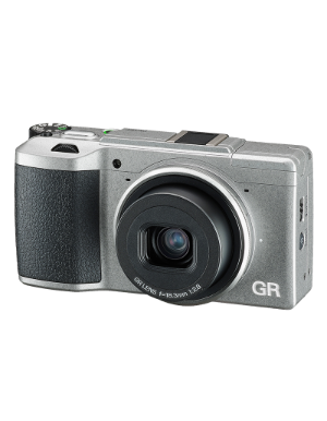 Ricoh GR II Silver Limited Edition with Case OCE