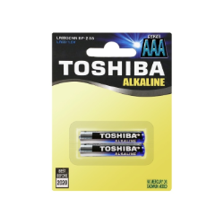 Toshiba AAA 2 piece Alkaline Battery