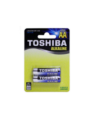 Toshiba AA 2 piece Alkaline Battery