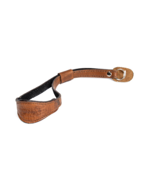 ONA The Kyoto - Antique Cognac Leather Wrist Strap