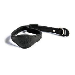 ONA The Kyoto - Black Leather Wrist Strap
