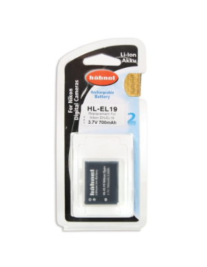 Hahnel EN-EL19 700mAh 3.7V Battery for Nikon