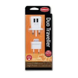 Hahnel Duo Traveller USB Charger