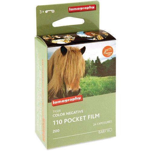 Lomography Tiger 200 Colour Film (110, 24 Exp., 3 Pack)