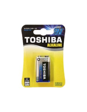 Toshiba 9V Alkaline Battery