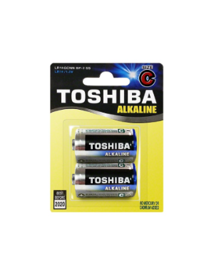 Toshiba C 2 piece Alkaline Battery