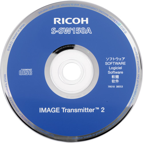 Pentax Image Transmitter 2 S-SW150A Software CD for 645Z
