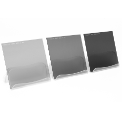 Firecrest ND 100x100mm Kit of 3 Filters 1 to 3 Stops Neutral Density