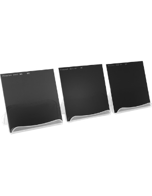 Firecrest ND 100x100mm Kit of 3 Filters 2 to 4 Stops Neutral Density