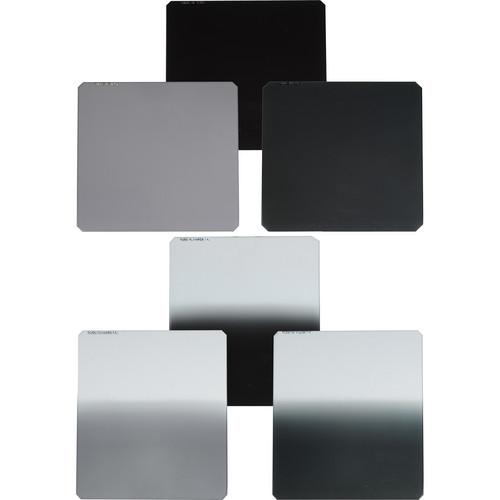 Formatt-Hitech 85x85/110mm Master Kit 6 Filters 1 to 3 Stops ND & Soft Edge Grad