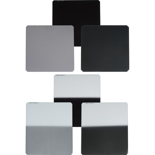 Formatt-Hitech 67x85mm Master Kit 6 Filters 1 to 3 Stops Neutral Density Hard Edge Grad