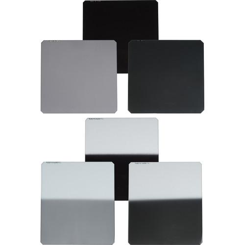 Formatt-Hitech 85x85/110mm Master Kit 6 Filters 1 to 3 Stops ND & Hard Edge Grad