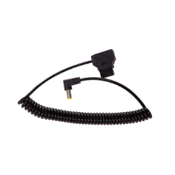 Rotolight Coiled D-Tap to 2.1mm DC 40cm to 130cm Length