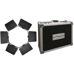 Rotolight ANOVA Pro Upgrade Kit - Barn Doors & Flight Case