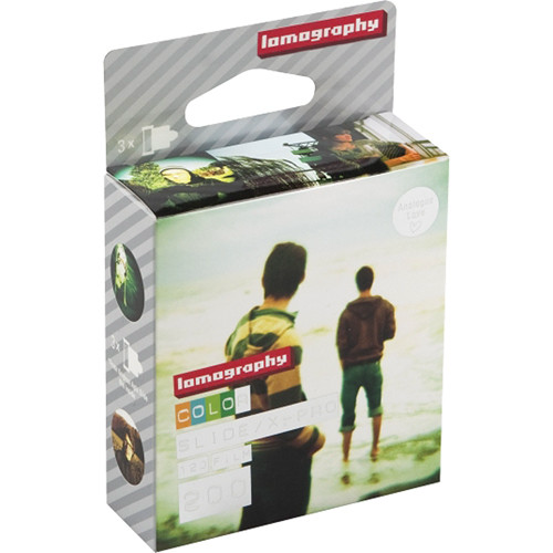 Lomography X-Pro Slide 200 Film (120 Roll, 3 Pack)