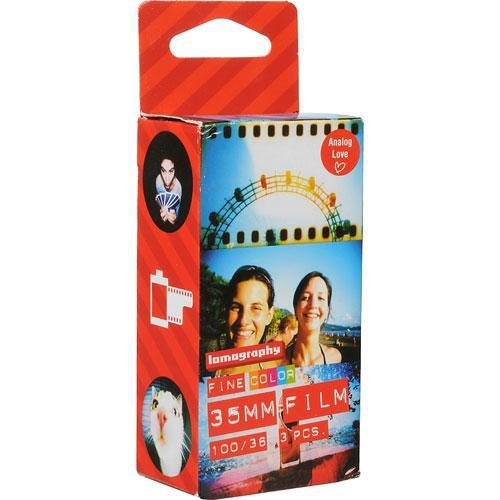 Lomography 100 Colour Film (35mm, 36 Exp., 3 Pack)