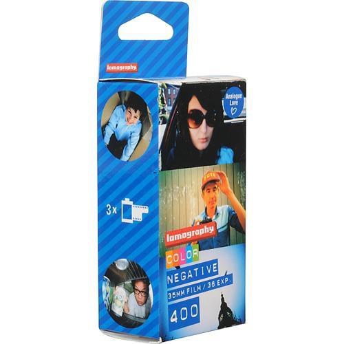 Lomography 400 Colour Film (35mm, 36 Exp., 3 Pack)