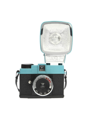 Lomography Diana Mini 35mm Camera & Flash (Teal and Black)
