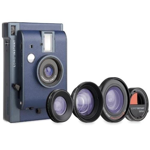 Lomography Lomo'Instant Camera, 3 Lenses & Splitzer (Reykjavik)