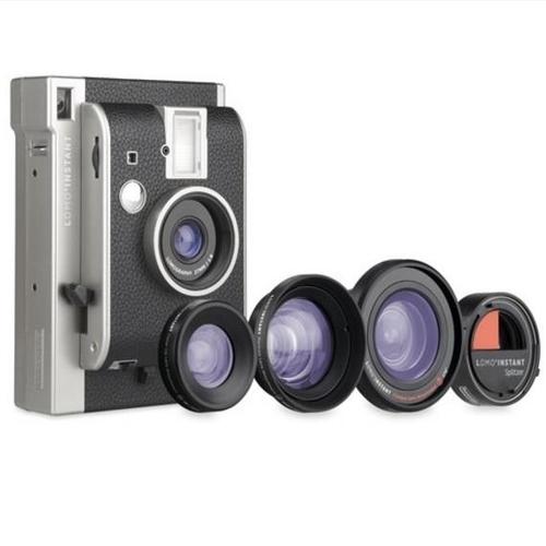 Lomography Lomo'Instant Camera, 3 Lenses & Splitzer (Montenegro)