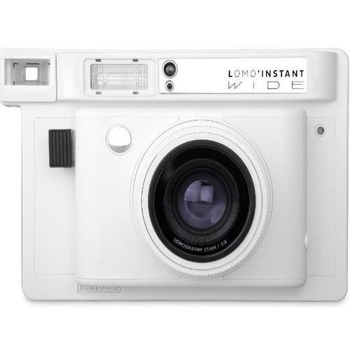 Lomography Lomo'Instant Wide Camera (White)