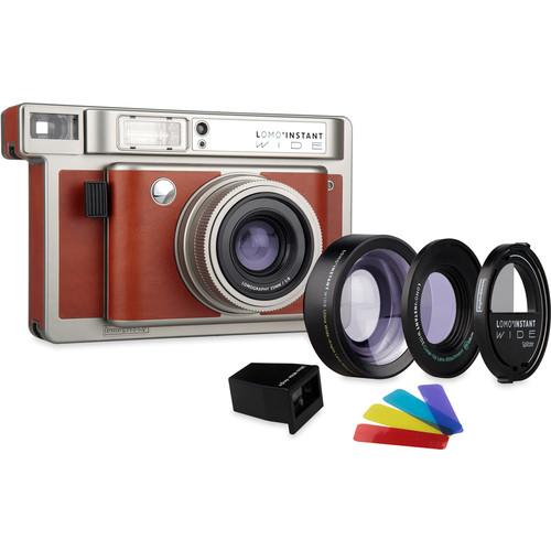 Lomography Lomo'Instant Wide Camera, 2 Lenses & Splitzer (Central Park)