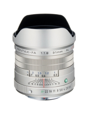 Pentax-FA 31mm f/1.8 Limited Lens (Silver)