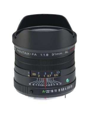 Pentax-FA 31mm f/1.8 Limited Lens (Black)