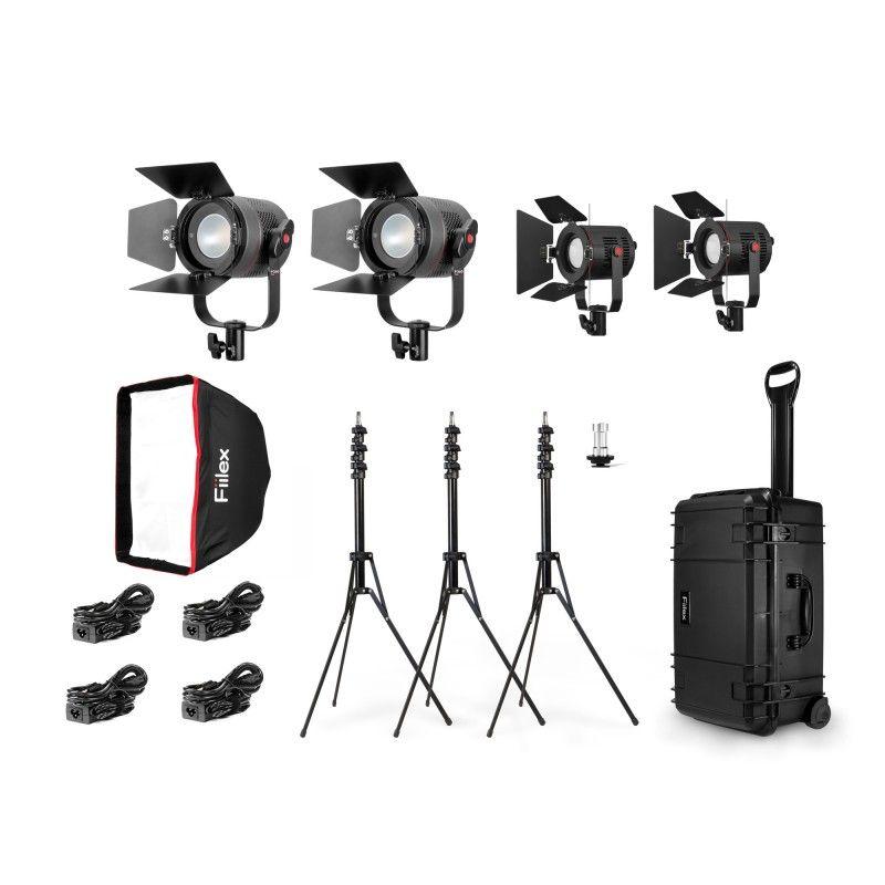 Fiilex K411: Pro Plus Travel Kit (2x P360 Pro Plus & 2x P18