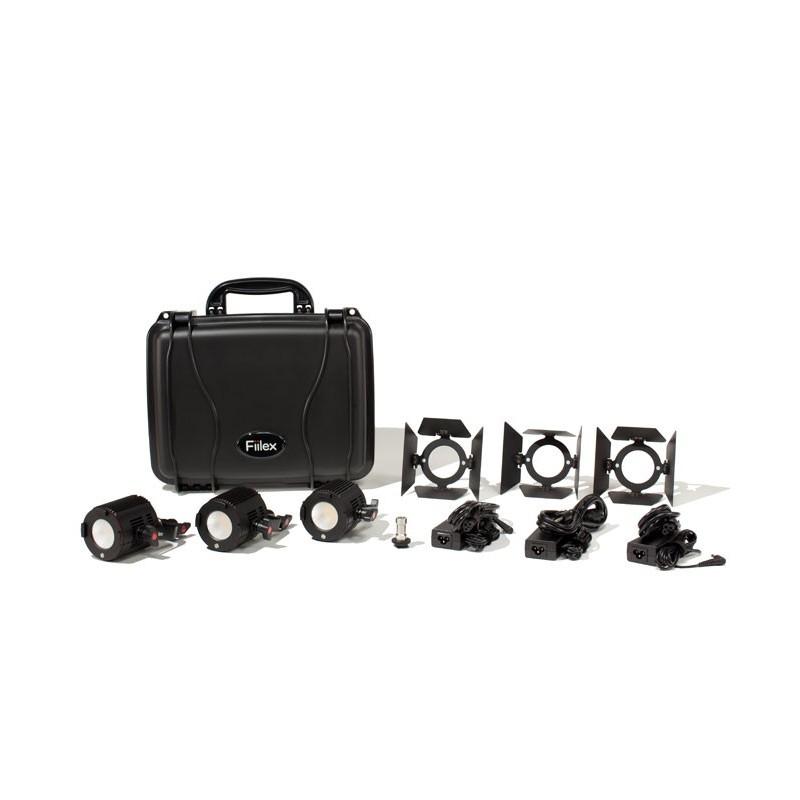 Fiilex M381: 3x P180 Light Compact Kit (No Stands)