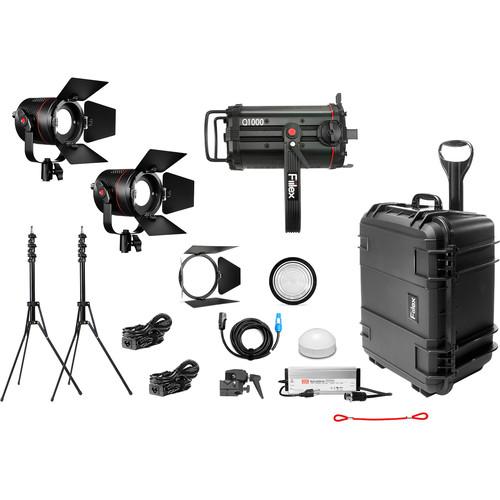 Fiilex X314 Gaffer's Kit (1x Q1000-DC/2x P360 Pro Plus)