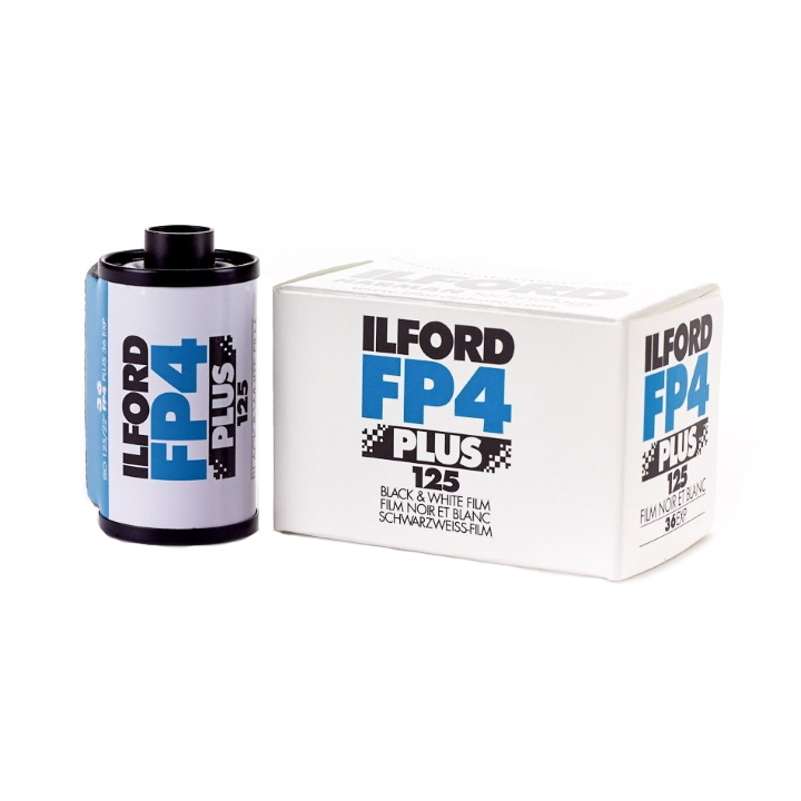 Ilford FP4 Plus ISO 125 35mm 36 Exposure Black & White Film