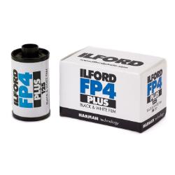 Ilford FP4 Plus ISO 125 35mm 24 Exposure Black & White Film