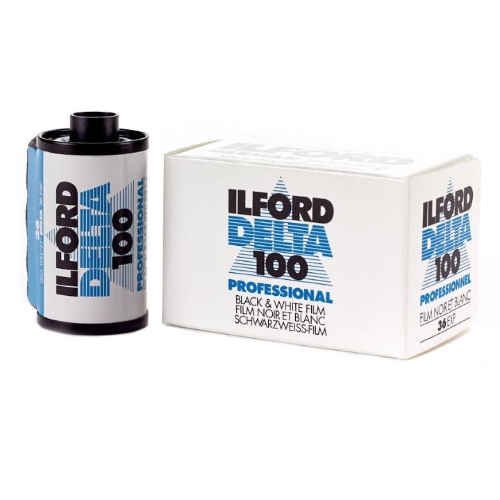 Ilford Delta 100 ISO 100 35mm 36 Exposure Black & White Film