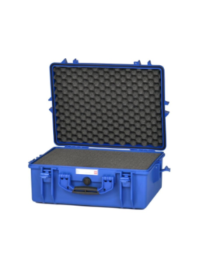 HPRC 2600W - Wheeled Hard Case with Foam - Electric Blue