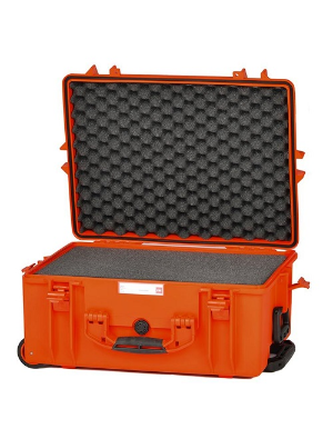 HPRC 2600W - Wheeled Hard Case with Foam - Orange