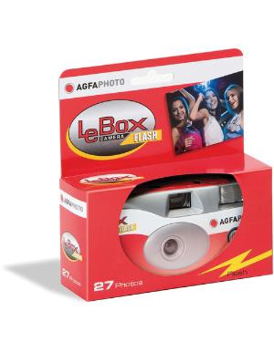 Agfa LeBox 400 SUC Flash 27 35mm Disposable Camera