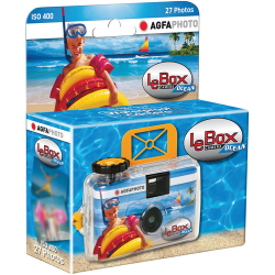 Agfa LeBox 400 Ocean 27 Exposure 35mm Disposable Camera