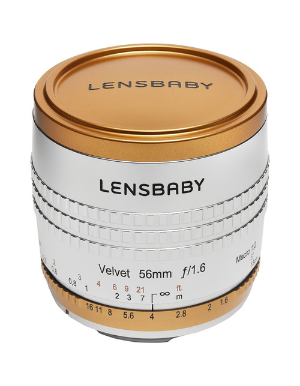 Lensbaby Velvet 56mm f/1.6 Limited Edition Lens for Canon EF