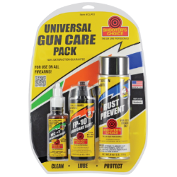 Shooter's Choice Universal Gun Care Pack 3-Piece Kit