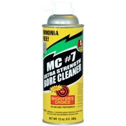 Shooter's Choice 340g (12oz) MC7 Extra Strength Bore Cleaner Aerosol