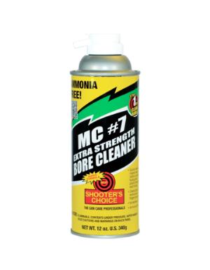 Shooter's Choice 340g (12oz) MC7 Extra Strength Bore Cleaner Aerosol