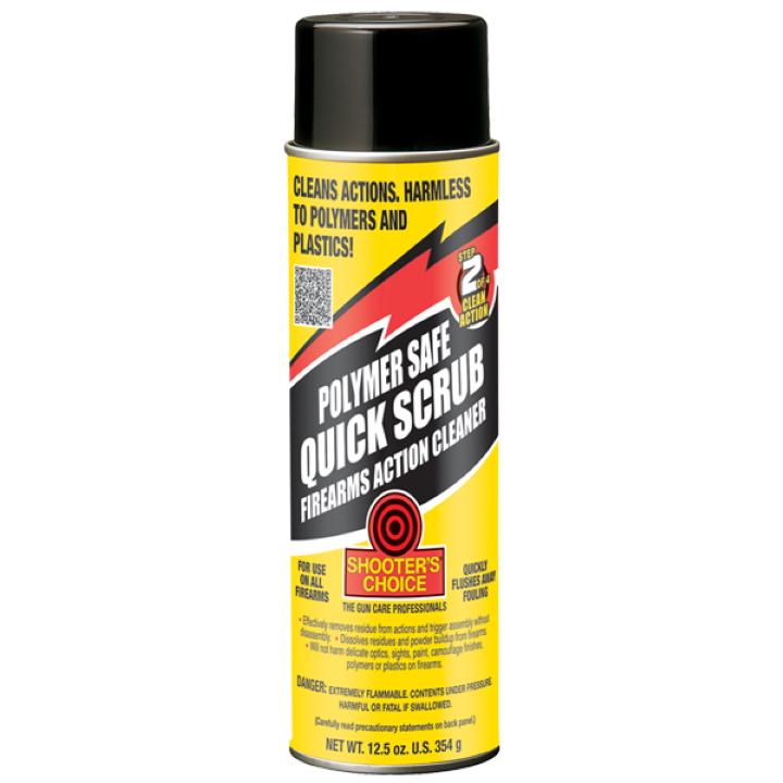 Shooter's Choice 354g (12.5oz) Polymer Safe Quick-Scrub Aerosol