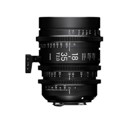 Sigma 18-35mm T2 Canon EF Mount Cine Lens